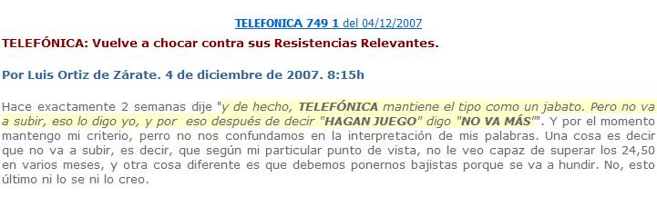 TEF TERCER AVISO 2007